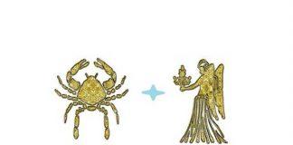 Мужчина-Рак и женщина-Дева